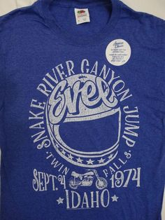 graceful shop Evel Knievel One Level Adult Short Sleeve T-Shirt