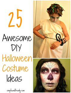 25 DIY Halloween Costume Ideas- most definitely for the rapunzel wig!