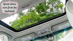 2013 Toyota Camry hybrid review - sunroof