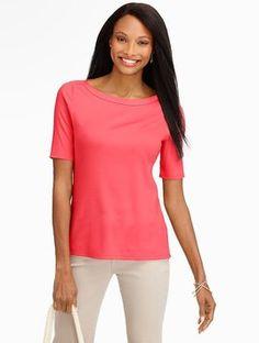 66340c1e9a2 Talbots T Shirt Papaya Fruit Spring Summer 2015