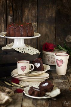 Kanela y Limón: Bizcocho de chocolate / San Valentín