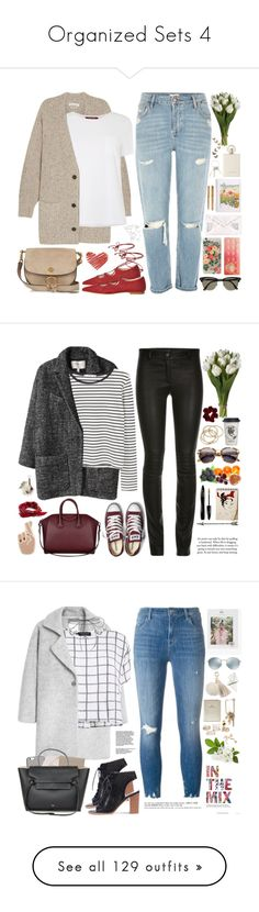 Organized Sets 4 by chocolatepumma on Polyvore featuring polyvore, fashion, style, Étoile Isabel Marant, MaxMara, River Island, Chloé, Ray-Ban, Rifle Paper Co, KEEP ME, Too Faced Cosmetics, Parker, Givenchy, clothing, MANGO, ElleSD, Converse, Alexander Wang, ABS by Allen Schwartz, Natural Life, ASOS, Lancôme, Georgia Perry, Fendi, stripes, converse, CasualChic, coat, Myne, J Brand, Lodis, Native Union, Miss Selfridge, Lilou, FOSSIL, Juicy Couture, Topshop, Louis Vuitton, rag & bone… Fashion Sites, Fashion 2017, Fashion Dresses, Bob's Your Uncle, Givenchy Clothing, Flatlay Styling, Rifle Paper, Kpop Outfits, Natural Life