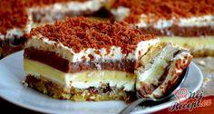 Luxusní lakocinka – SEX na talířku – Recepti Czech Recipes, Ethnic Recipes, Cheesecake Cupcakes, Köstliche Desserts, Cheesecakes, Tiramisu, Cupcake Cakes, Cooking, Food