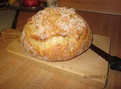 Since I retired in I have been in search of the perfect Crusty Bread recipe. You know, the kind you find in great Italian restaurants that have a gorgeous crackly crust and a chewy inside, perfect for dipping in olive oil? I cannot take credit for Dutch Oven Bread, Dutch Oven Cooking, Dutch Oven Recipes, Cooking Recipes, Italian Bread Recipes, Cooking Oil, Bread Flour Recipes, Crusty Italian Bread Recipe, Artisan Bread Recipes