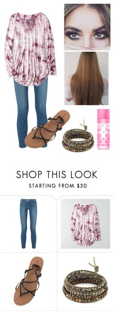 """Picture day"" by duhitsallison ❤ liked on Polyvore featuring L'Agence, American Eagle Outfitters, Billabong, Chan Luu and Victoria's Secret PINK"