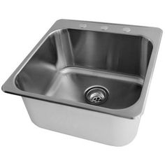 Superieur Acri Tec   Stainless Steel Laundry Sink (20 X 20 1/2 X