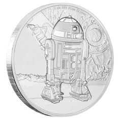 is the fourth character to feature in the Star Wars Classic coin collection. The stunningly engraved 1 oz Silver Coin features being … Bullion Coins, Silver Bullion, Mint Coins, Silver Coins, Silver Investing, Commemorative Coins, Proof Coins, World Coins, Star Wars Collection