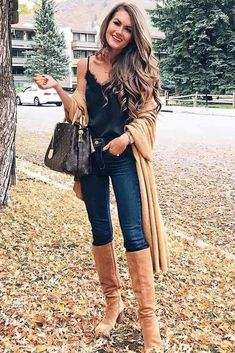 Casual fall outfit ideas for women 16