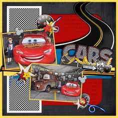 Lightning McQueen and Mater - Page 3 - MouseScrappers.com