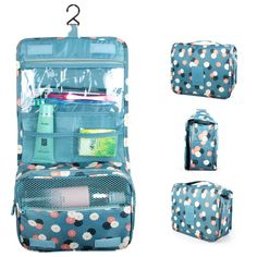 Cheap travel set, Buy Quality set travel directly from China hanging organizer bag Suppliers: Boruit Travel set High quality waterproof portable man toiletry bag women cosmetic organizer pouch Hanging wash bags Makeup Storage Bag, Toiletry Storage, Makeup Pouch, Toiletry Bag, Bag Storage, Travel Cosmetic Bags, Travel Toiletries, Cosmetic Case, Bathroom Organisation