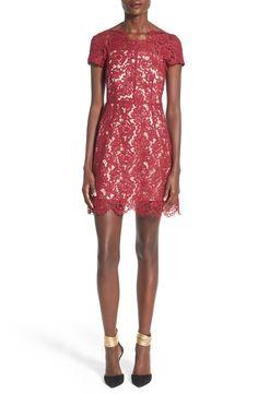 Lucy Paris 'Lisbon' Lace Sheath Dress