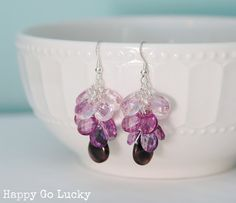 Make your own Ombre Earrings with this easy tutorial! www.lovegrowswild.com #diy #ombre #jewelry