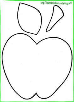 Apple Decoration Ideas Lovely Fresh Apple themed Kitchen Home Decoration Ideas Designing Apple Activities, Autumn Activities, Crafts For Seniors, Crafts For Kids, Coloring For Kids, Coloring Pages, Apple Template, September Crafts, Apple Decorations