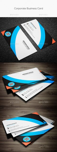 Buy Corporate Business Card by on GraphicRiver. Fully Customizable and Editable Fully Layered PSD files CMYK Setting 300 DPI High Resolution (with bleed Business Cards, Corporate Business, Your Cards, Card Templates, Lipsense Business Cards, Card Patterns, Name Cards, Visit Cards
