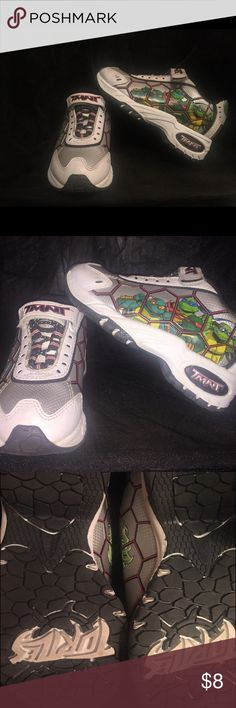 TMNT sneakers Worn maybe twice, great condition. TMNT Shoes Sneakers