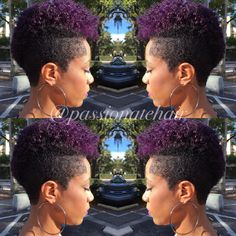 New hair style - Natural Hair Short Cuts, Short Natural Haircuts, Short Hair Cuts, Natural Hair Styles, Tapered Natural Hairstyles, Pixie Cuts, New Hair, Shaved Hair Designs, Pelo Afro