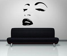 Vinyl Wall Decal Sticker Hair Style Salon Lips Eyes Face Girl Fashion Holl A32 Sticker'Shop http://www.amazon.com/dp/B0195AIREQ/ref=cm_sw_r_pi_dp_FevAwb1MJ8VJA