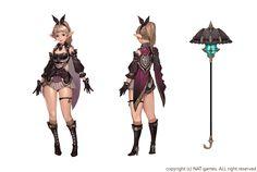 ArtStation - HIT_ Character concept _Hugo / Kiki / Rena, bom Yeon