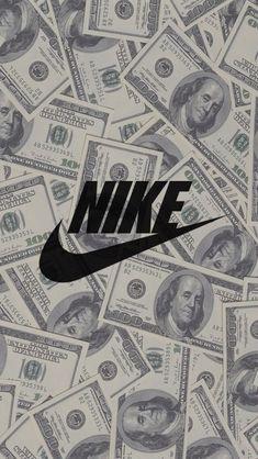 Get Good Nike Wallpaper for Smartphones Today! Money Wallpaper Iphone, Hype Wallpaper, Iphone Background Wallpaper, Tumblr Wallpaper, Cellphone Wallpaper, Cartoon Wallpaper, Desktop Backgrounds, Hd Desktop, Wallpaper Ideas