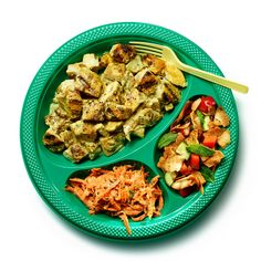 The New York Times Magazine Middle-Eastern Picnic Basket: Street-Cart-Style Chicken Salad | Fattoush | Grated Carrots With Tahini Dressing