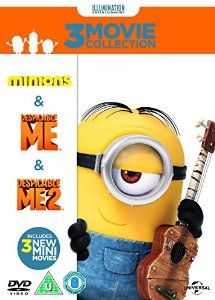 Minions Collection Despicable Me/Despicable Me 2/Minions DVD: Amazon.co.uk: Pierre Coffin, Chris Renaud, Kyle Balda, John Cohen, Janet Healy, Christopher Meledandri: DVD & Blu-ray