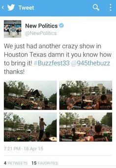New Politics, Emo Bands