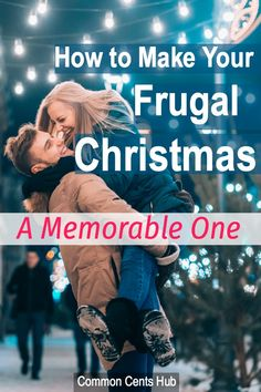 A frugal Christmas can be more memorable than spending until it hurts. Why? Because nobody will remember that pair of gloves years from now, but they will remember an experience, or a tradition you shared. Here are 14 ways you can spend less at Christmas, enjoy it more, and hit 2021 running! #frugalchristmas #holidayspending #commoncentshub #savemoney.