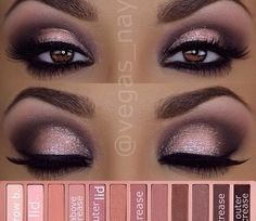 Eye makeup will complement your beauty and help to make you look fabulous. Find out just how to begin using make-up so that you can show off your eyes and impress. Learn the best ideas for applying make-up to your eyes. Mac Makeup, Prom Makeup, Skin Makeup, Eyeshadow Makeup, Makeup Tips, Eyeliner, Makeup Ideas, Eyeshadow Palette, Bridal Makeup