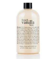 Philosophy French Vanilla Bean Shampoo, Shower Gel, & Bubble Bath - - No Size Philosophy Shower Gel, Philosophy Products, Bath Body Works, Avon Products, Beauty Products, Body Products, Beauty Tips, Hair Products, Beauty Care