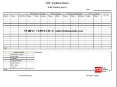 Order Completion Report Format  Mis Formats