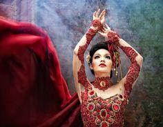 Lady in Red by Deddy_Heruwanto, via 500px