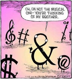 Music humor