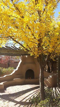 Albuquerque, New Mexico Style Hacienda, Hacienda Homes, Spanish Colonial, Spanish Style, Outdoor Rooms, Outdoor Living, Outdoor Ideas, New Mexico Style, Adobe House