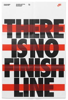Nike – There is no finish line