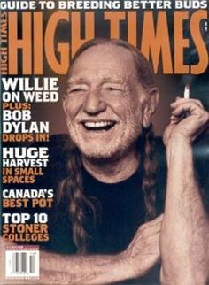 Willie Nelson - HIGH TIMES magazine