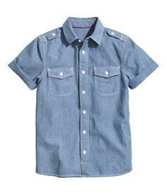 H&M Chambray shirt $19.99