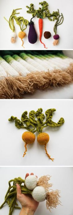Latvia-based MapleApple, a mother and daughter duo, knit a...
