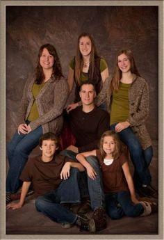 Family Studio Portrait Photography: