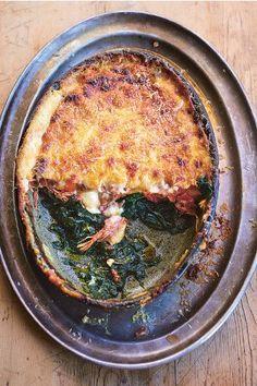 Jamie Oliver's Crispy Duck Lasagna
