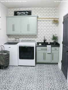 Laundry Room Layouts, Laundry Room Remodel, Laundry Room Storage, Laundry Room Design, Laundry Room Floors, Laundry Room Cabinets, Laundry Decor, Laundry Room Drying Rack, Laundry Room Makeovers