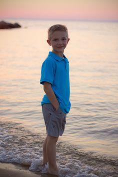 Boy Beach Photo