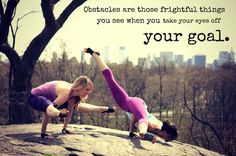 Yoga quotes yoga quotes health obstacle health quotes goal live life life quotes healthy life.