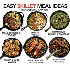 Beef Picadillo, Easy Skillet Meals, Girl Train, Spicy Salmon, Fajitas, Sweet Potato, Meal Planning, Meal Prep