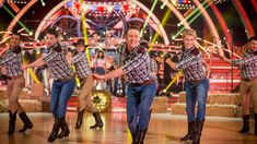 Strictly Pros Dance to 'Cotton Eyed Joe / Timber' medley - Strictly Come Dancing 2014 - BBC One