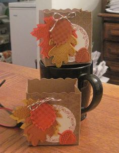 Autumn Treat box...no link for instructions...by invitation only
