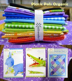 Picnic Pals Organic giveaway on the #Clothworks blog!