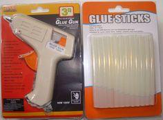 GLUE GUN WITH 26 FREE GLUE STICKS HOT MELT ARTS CRAFT 10W 110 V
