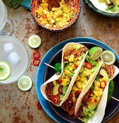 Cajun Spiced Pulled Pork Tacos recipe