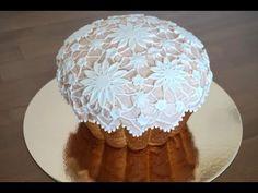 Как украсить кулич\паску.Пасха 2020.Кружева Эксперимент.Easter cake\Brioche. Pâques - YouTube Cake Recipes, Dessert Recipes, Sicilian Recipes, Sicilian Food, Brioche Bread, Cake Stencil, Artisan Bread, Dinner Rolls, Plated Desserts