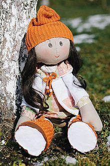 Hračky - Látková bábika 1 - 8396505_